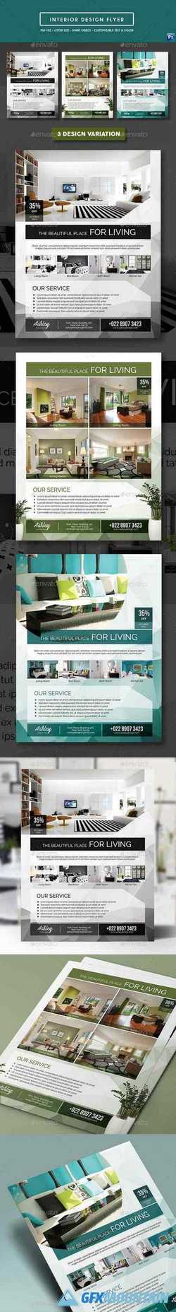 Interior Design Flyer 19646492