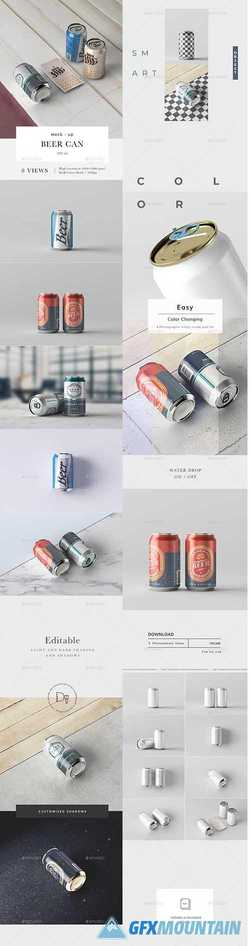 Beer Can 330 ml Mock-up 22573005