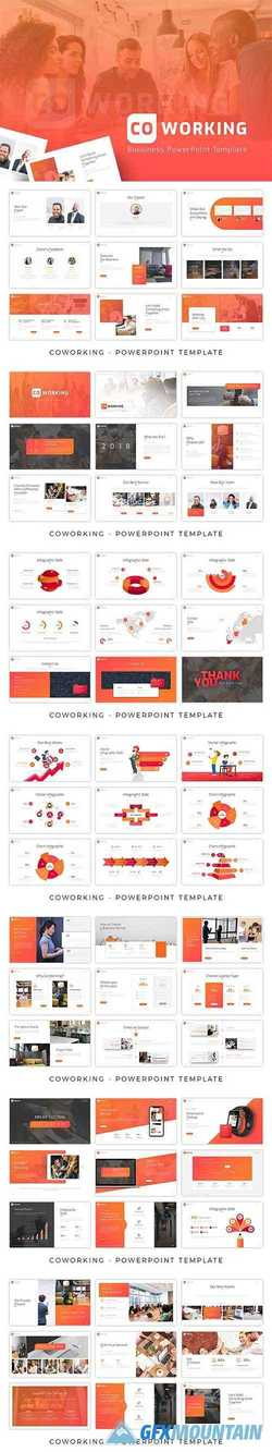 Coworking Powerpoint Template 2968232