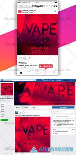 VAPE SHOP – SOCIAL MEDIA VIDEO TEMPLATE