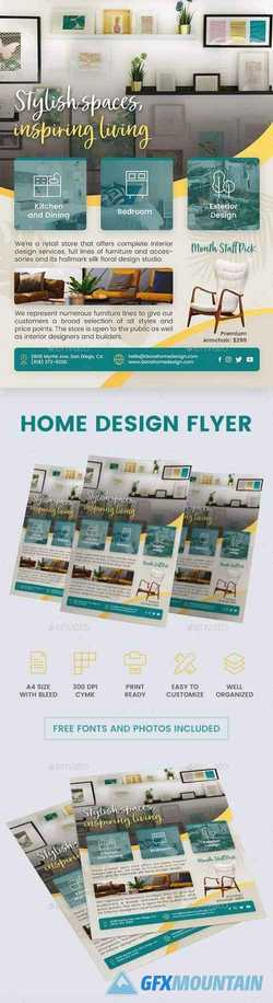 Interior Design Flyer 22608854
