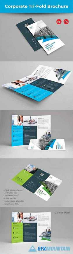 Corporate Trifold Brochure 22604430