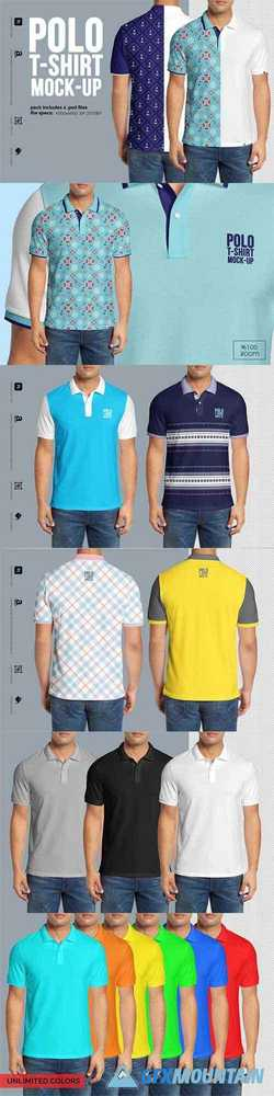 Polo shirt Mock-Up 2941662