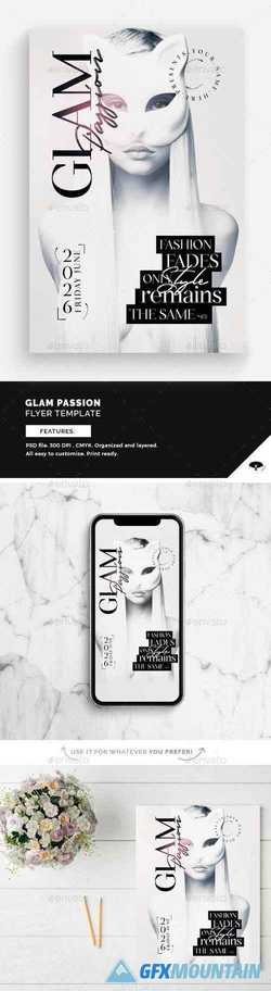 Glam Passion Flyer Template 22649869
