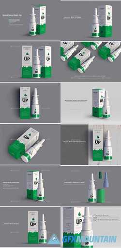 Nasal Spray Mock Up 22648481