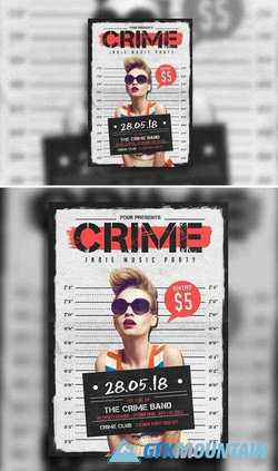 Indie Crime Poster/Flyer 611817