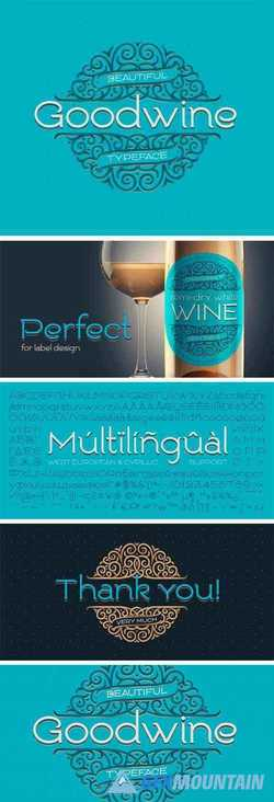 Goodwine Typeface