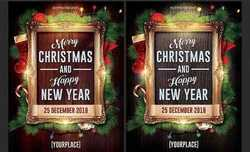 Christmas New Year Flyer 2802347