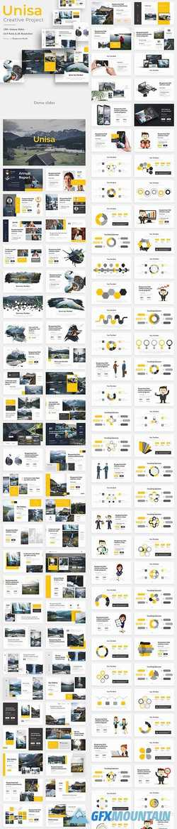 Unisa Creative Powerpoint Template 22657651