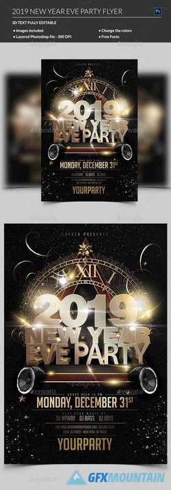 New Year Party Flyer 22734567