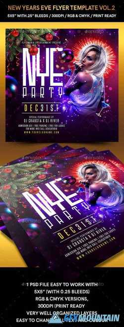 New Years Eve Flyer Template Vol 2 22716626