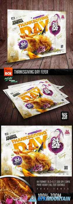 Thanksgiving Day Flyer 22781139