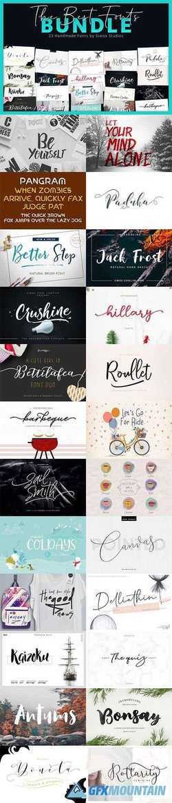 The Best Fonts Bundle 3061125