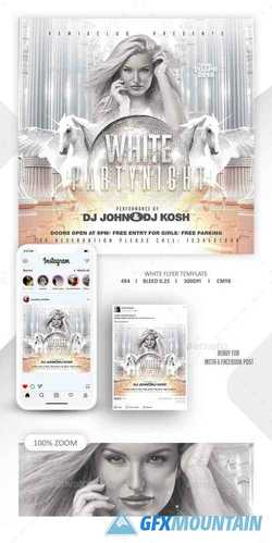 White Party Template 22761213