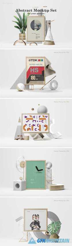 ABSTRACT MOCKUP SET 2 - 2778331