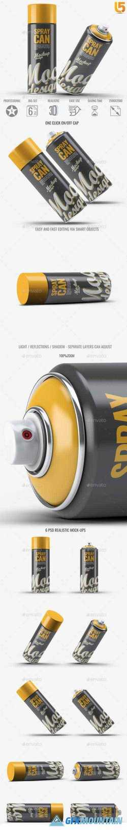 SPRAY PAINT MOCK-UP V2 - 22817845