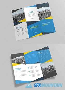 Corporate Trifold Brochure 22729452