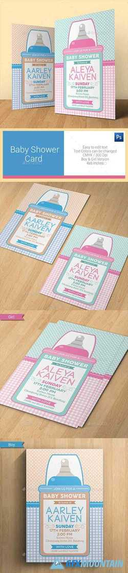 Baby Shower Card 11317529
