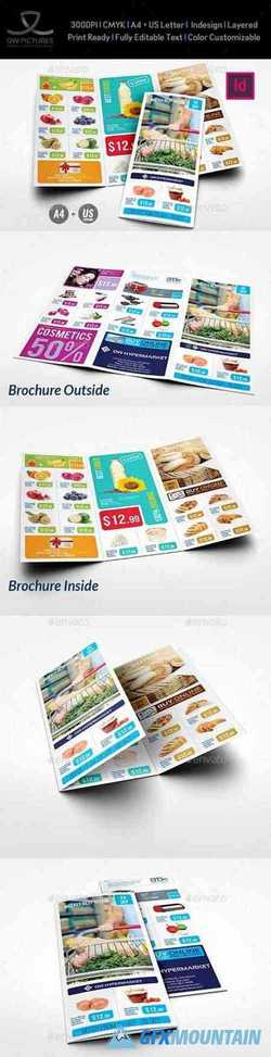 Supermarket Products Tri-Fold Catalog Brochure Vol5 22823918