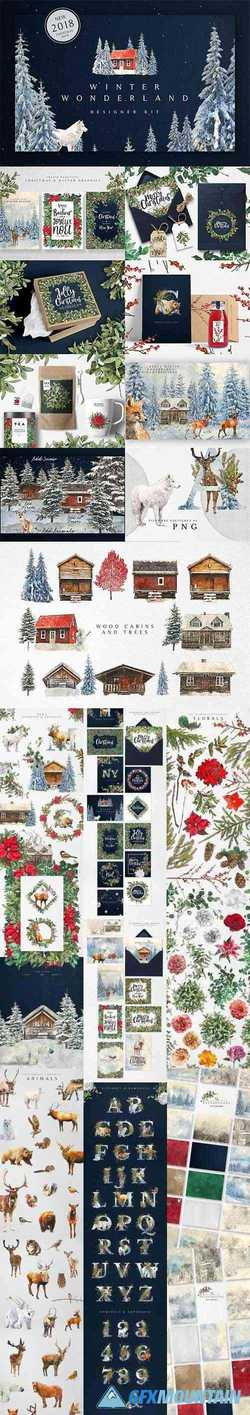 WINTER WONDERLAND DESIGNER KIT - 3102909