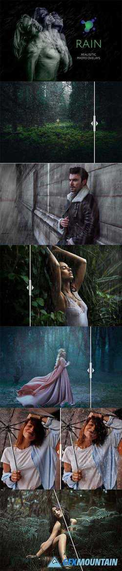45 Rain Photo Overlays 3279115