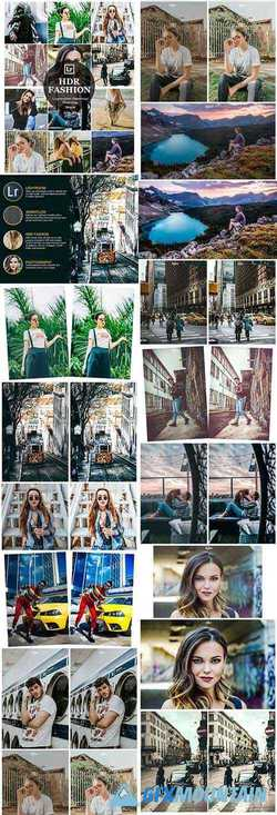10 HDR Fashion Lightroom Desktop and Mobile Presets 22982586