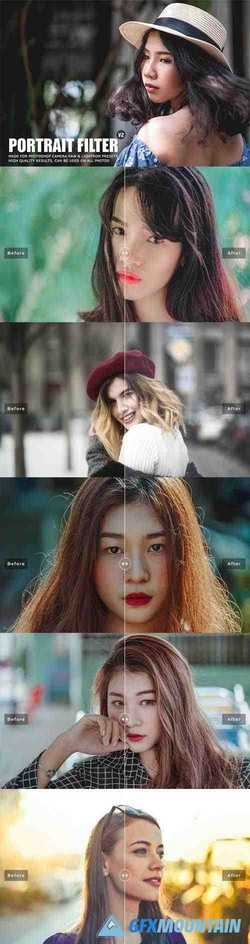 Pro Portrait Lightroom Presets Ver. 2