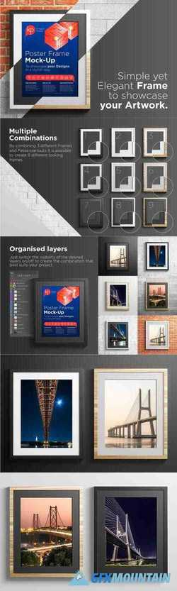 POSTER FRAME MOCK-UP - 3297256