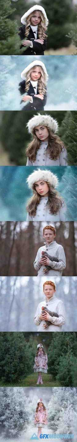 The Innocence Snow Day Collection Overlays & Actions