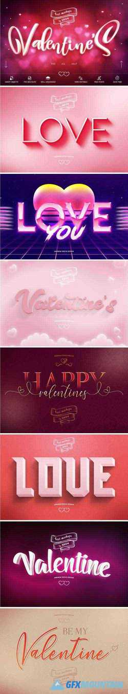 VALENTINE TEXT EFFECTS - 3314874