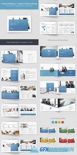 Creative Marketing – Company Profile Landscape 23437849