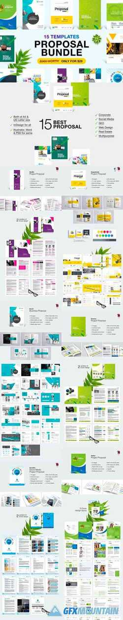 Business Proposal Bundle 15 in 1 3438432