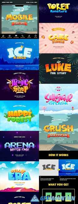 MOBILE GAME TEXT EFFECTS VOL 2 - 23439241