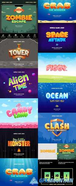 MOBILE GAME TEXT EFFECTS VOL 1 - 23376785