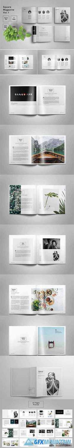 Square Magazine Template Indesign 2576551