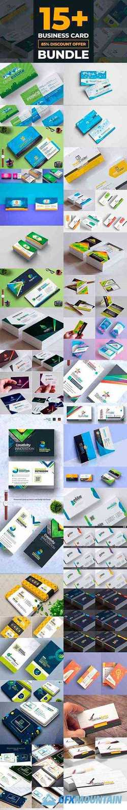 Business Card Template Bundle 3605436