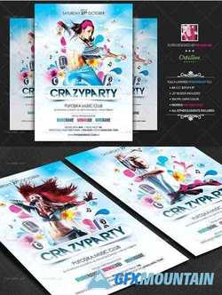 Crazy Party Flyer Poster 3081146