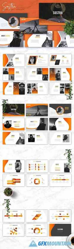 SOSTRA - Creative Powerpoint, Keynote, Google Slides Templates