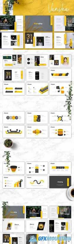 VANSHA - Business Powerpoint, Keynote, Google Slides Templates