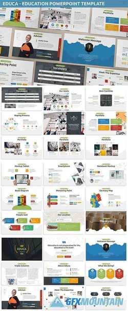 Educa - Education Powerpoint Template