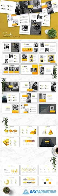 SINDE - Business Powerpoint, Keynote and Google Slides Template