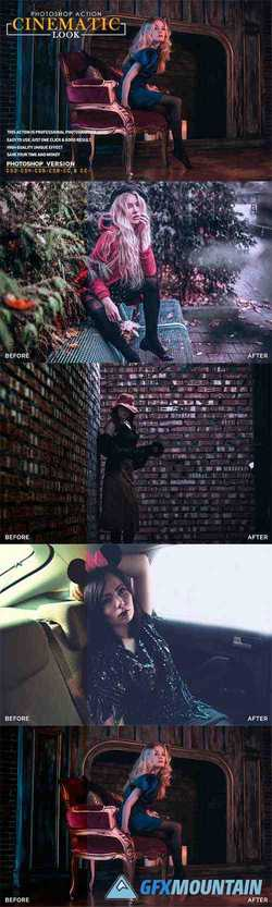 Cinematic Look Photoshop Action