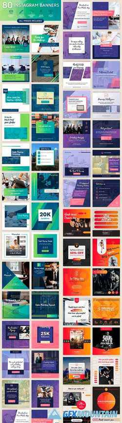 Instagram Banners Bundle 21830853