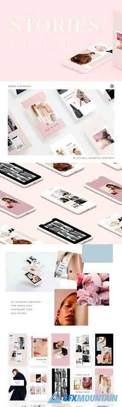 ANIMATED Instagram Stories Pack III 3500363