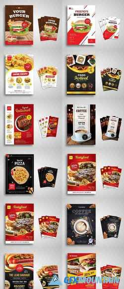 Food Flyers Pack
