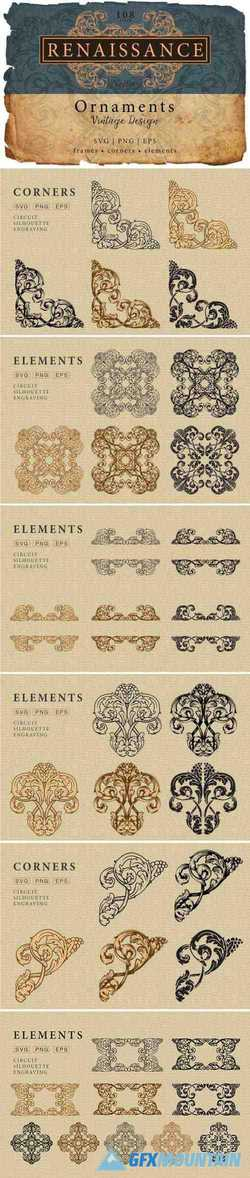 PAGE DECORATION ORNATE VINTAGE - 3339248