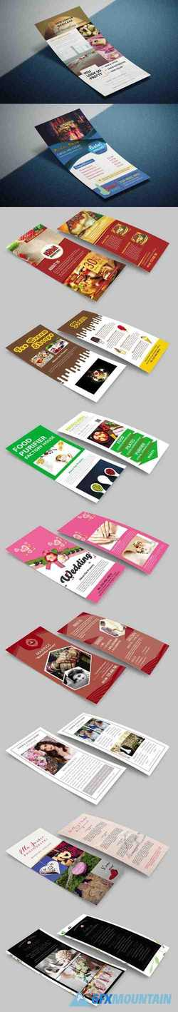 10+ Premium Rack Cards PSD Templates Collection