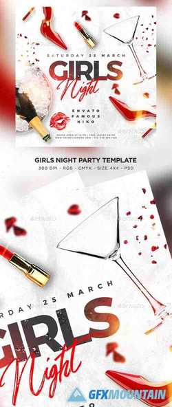 Girls Night Out Flyer 23496657