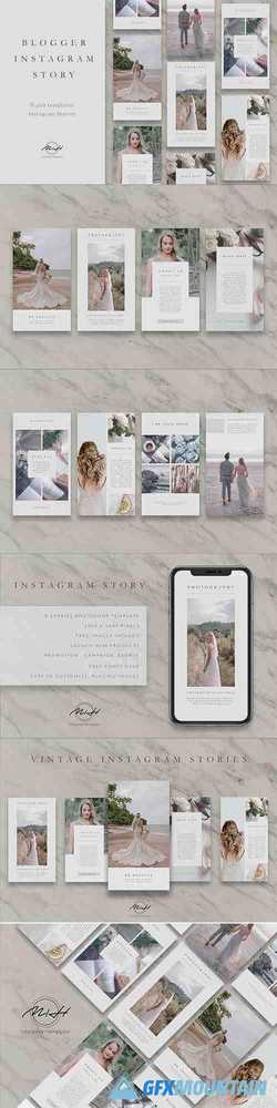 Vintage Instagram Stories Template 3699498