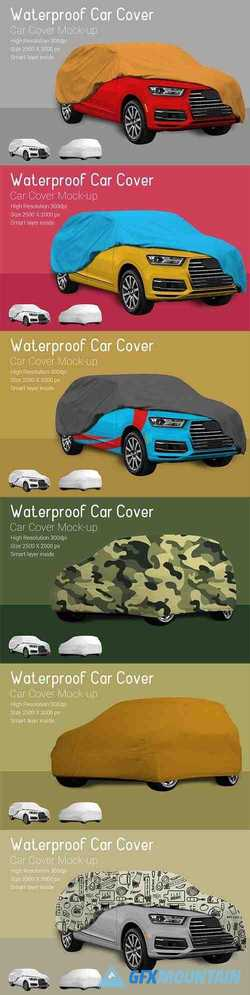 Car Cover Mock-Up 3726487
